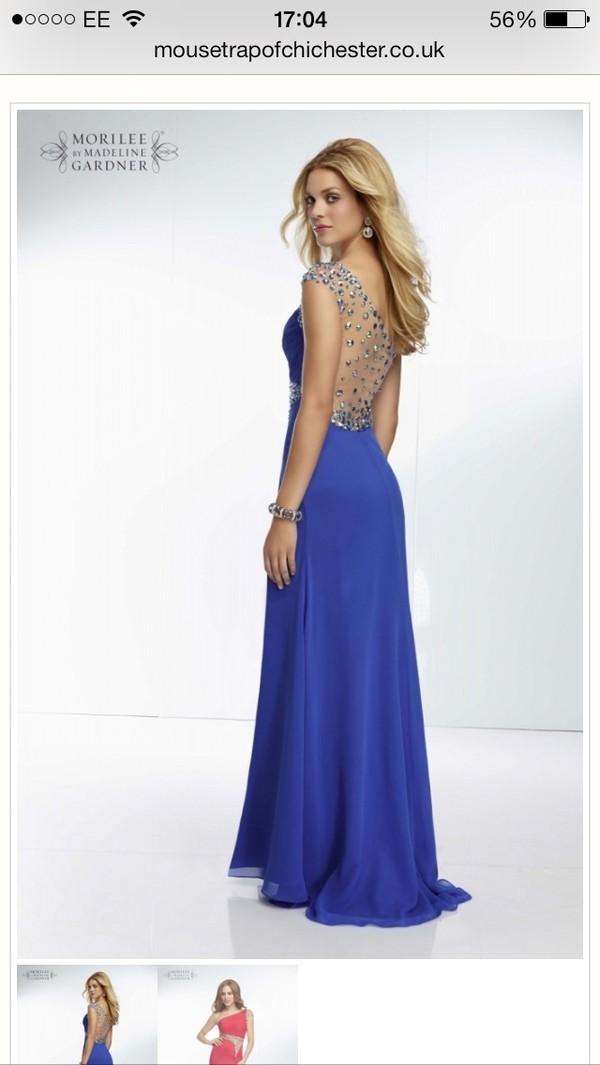 dress prom dress long prom dress gems jewels