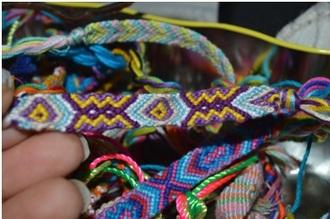 jewels jewelry bracelets frienshipbracelets colorful accessories friendship bracelet