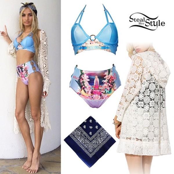 swimwear project 104 bikini pia mia perez cardigan urban outfitters