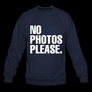 NO PHOTOS PLEASE. SWEATER   starholic