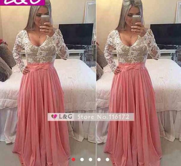 dress lace dress long maxi dress winter dress