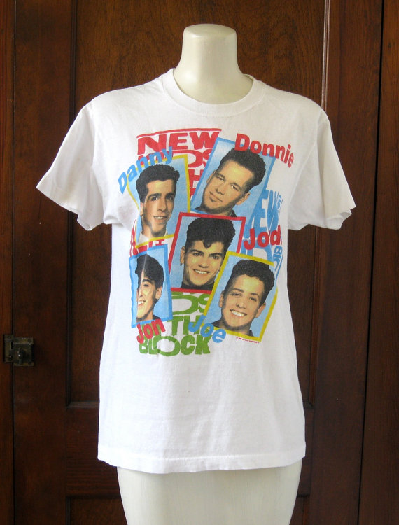 Vintage 1989 New Kids On The Block / Band by VelouriaVintage
