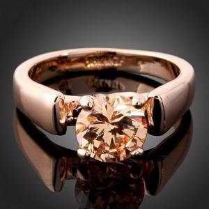 Fashion 18K GP Swarovski Crystal Finger Ring J0150 [J0150] - $4.99 : Arinna Jewelry & Watch, Arinna|Fashion Jewelry|Costume Jewellery|Watch|Arinnajewelry