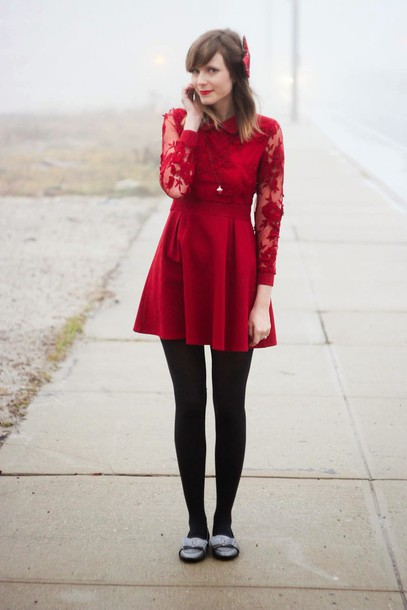 steffy's pros and cons blogger red dress dress jewels