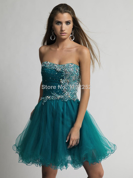 Aliexpress.com : Buy Custom Made Free Shipping Sexy Charming Sweetheart Party Dresses Knee Length Ball Gown Evening Gowns Plus Size Dresses  from Reliable gown ball dress suppliers on readdress