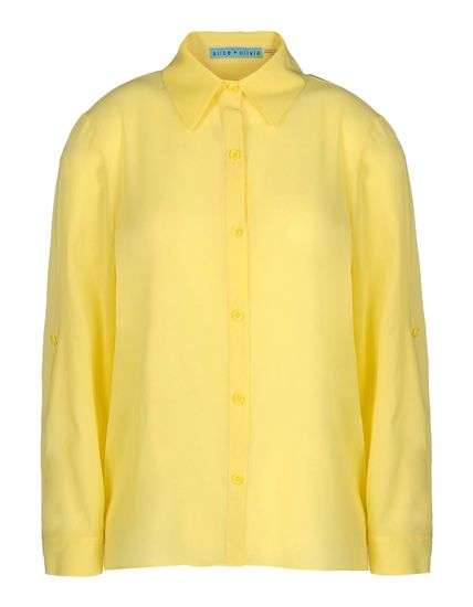 Alice Plus Olivia Shirt With 3 4 Length Sleeves - Alice Plus Olivia Shirts Women - thecorner.com