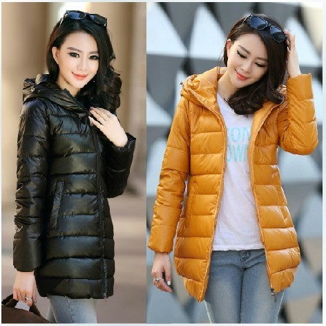 free shipping new 2013 autumn winter slim zipper parka coat hooded cotton jacket women thick down parkas jacket coat 10 color-inDown & Parkas from Apparel & Accessories on Aliexpress.com