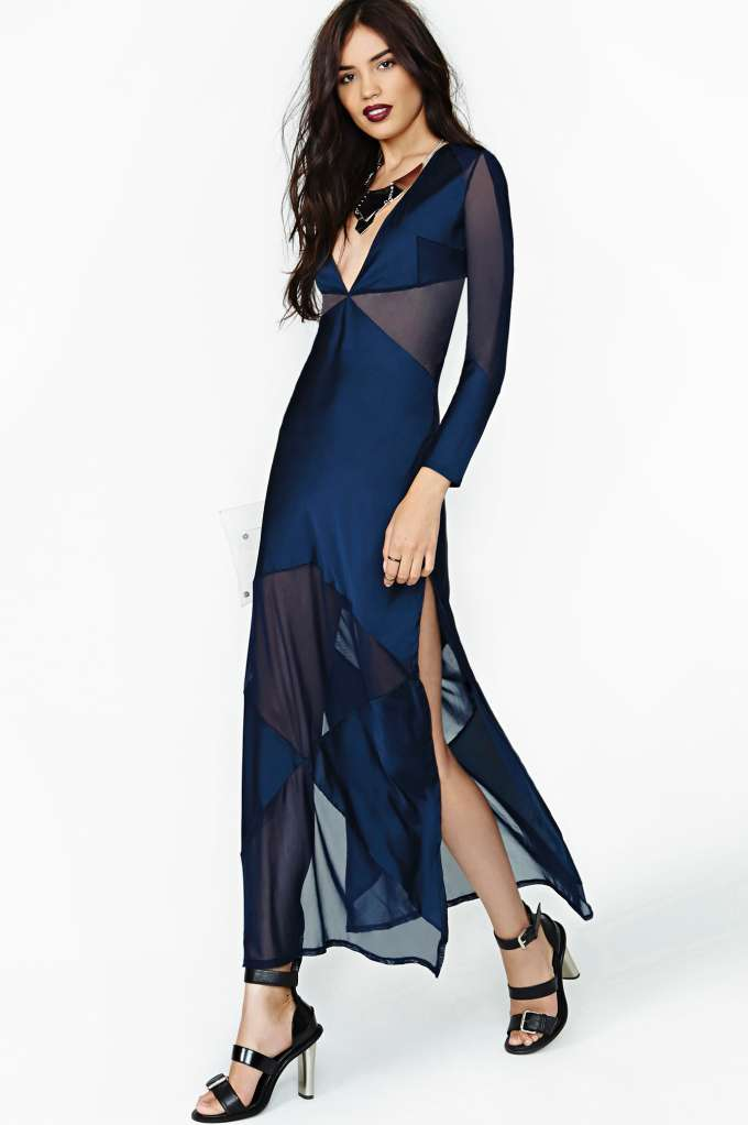 Nasty Gal Collection Paragon Maxi Dress in  Clothes at Nasty Gal