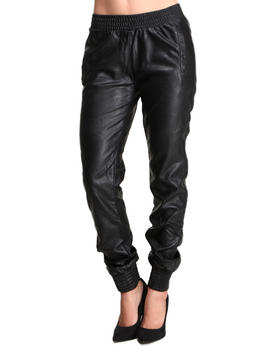 Buy FAUX LEATHER JOGGERS Women's Bottoms from Glamorous. Find Glamorous fashions & more at DrJays.com