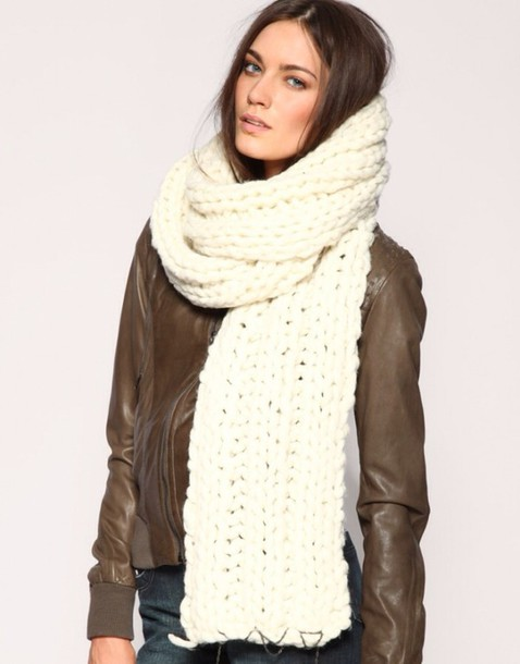 scarf oversized