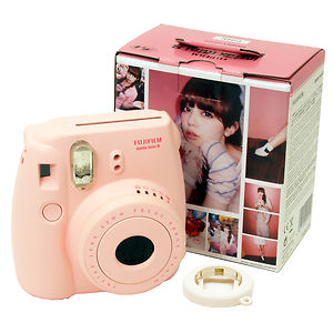 Fujifilm Instax Mini 8 Instant Film Camera Pink Fuji Cute Fun Polaroid Cheki 074101102253 | eBay