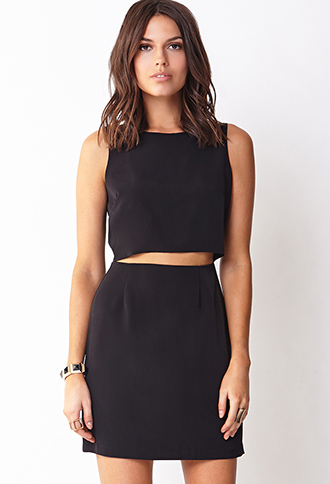 Clear Cut Shift Dress   FOREVER21 - 2000129324