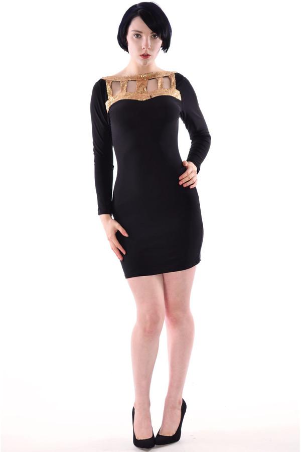 dress dress bodycon dress full sleeve dress sequin dress sequin neck dress bodycon dress party dress day dress evening dress