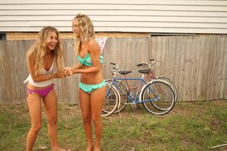 swimwear blue green bikini bikini top bikini bottoms aqua aquamarine billabong