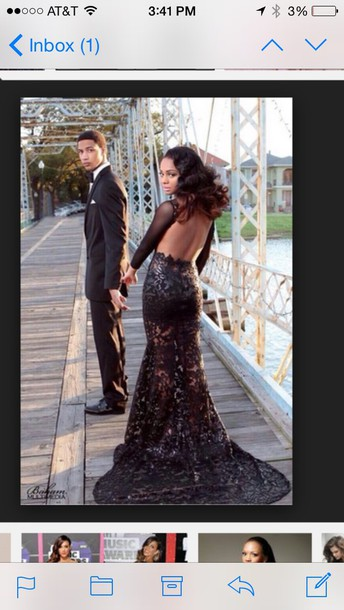 dress prom dress black glitter black prom dress open back prom dress