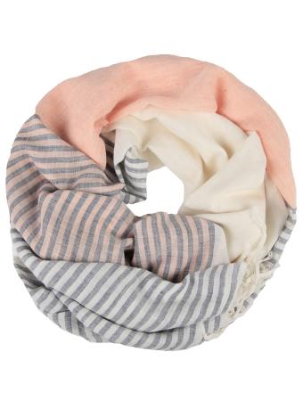 Cotton Candy Stripe | Women's Fashion Scarves & Shawls