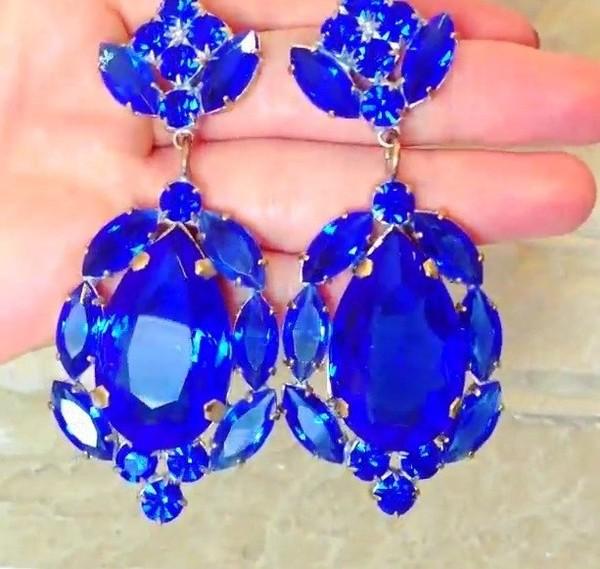 jewels earrings crystal