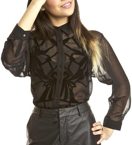 Velvet Dreams Blouse in Clothes at RawGlitter.com | Women's Avant-Garde Clothing | RawGlitter.com