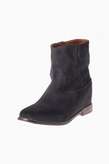 Retro Simple Design Leather Ankle Boots [HXM887]- US$142.99 - PersunMall.com