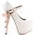 ZigiNY SKULL JANE Limited Edition Mary Jane Platform Pump in White – FLYJANE