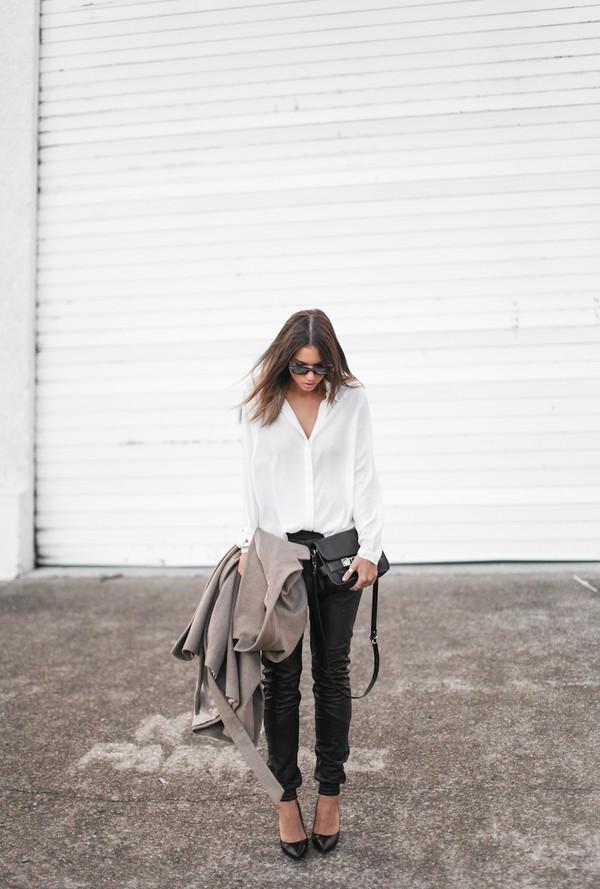 modern legacy pants shirt coat shoes bag sunglasses jewels