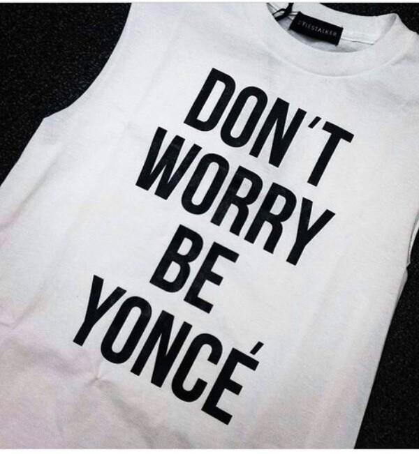 shirt beyonce t-shirt tank top white beyonce beyoncé shorts hat shoes sunglasses top white dress