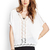 V-Neck Crocheted Dolman Top | FOREVER21 - 2000123340