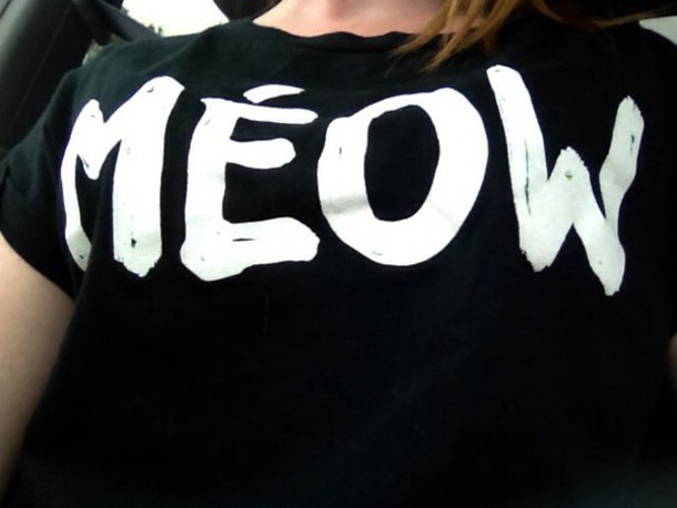 shirt meow