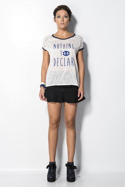 Camiseta gris Pret-a-porter                           | Mekdes