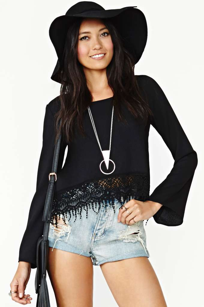 Poetry In Motion Top  in  Clothes Tops at Nasty Gal