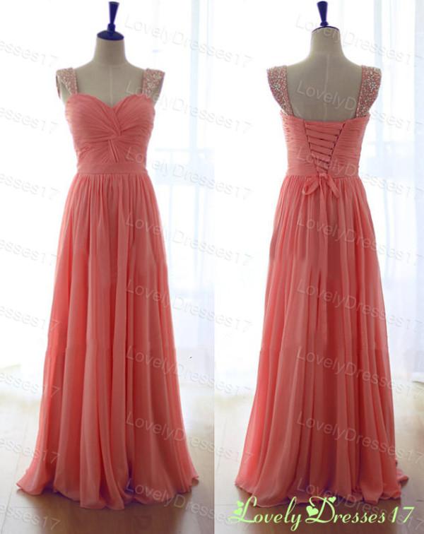 dress coral coral dress prom dress prom dress coral prom dress