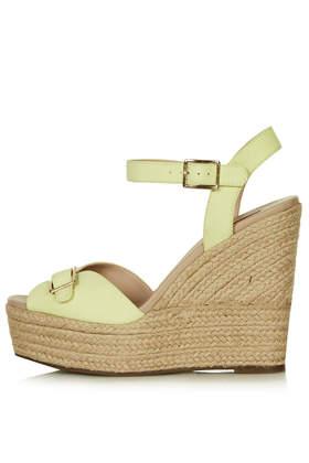WISH Buckle Espadrilles - Wedges - Heels - Shoes- Topshop