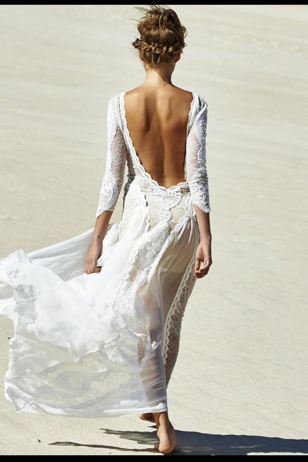 dress white prom dress formal dress lace lace wedding dress lace dress