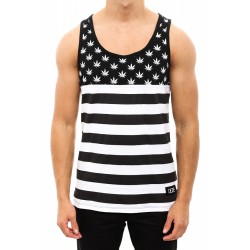 DOPE COUTURE Pledge Singlet Black/White   Culture Kings Online Store