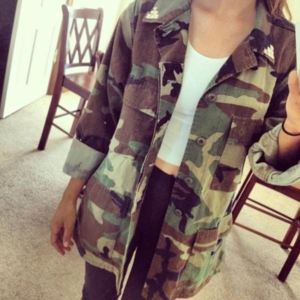jacket camouflage camo jacket