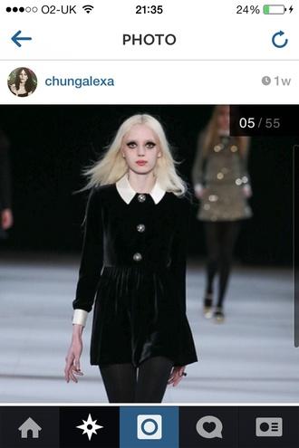 dress little black dress velvet underground velvet black