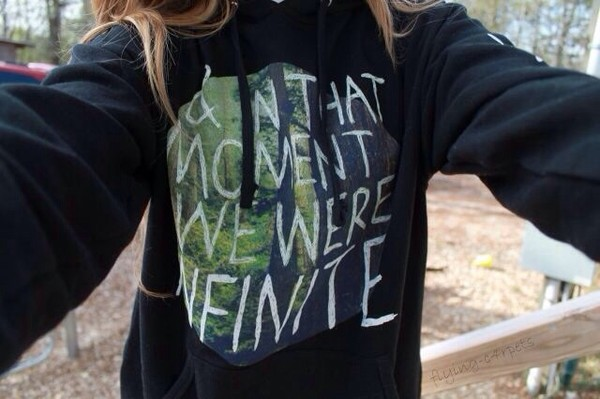 sweater cute quote on it black