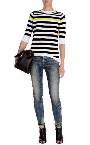 Graphic stripe knit jumper : Knitwear