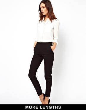 ASOS   ASOS Skinny Pants with Zip Detail at ASOS