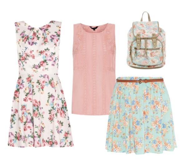 blouse dress skirt bag