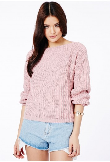 Parma Knitted Jumper - Knitwear - Jumpers - Missguided