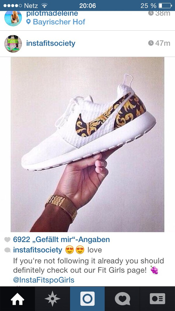 shoes nikes whites with leo print