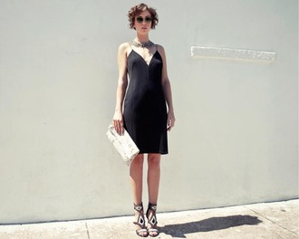 glamourai black dress dress