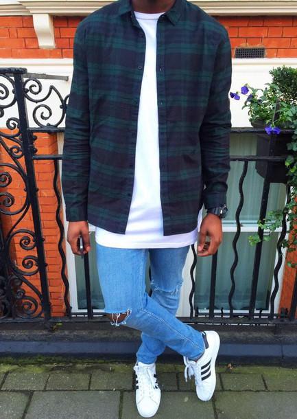 shirt plaid jacket