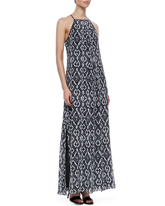 10 Crosby Derek Lam Jungle Printed Maxi Dress