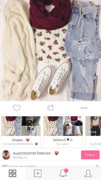 shirt roses