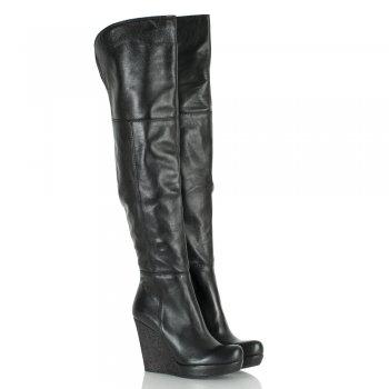 Daniel Black Perception Women's Over Knee Wedge Boot