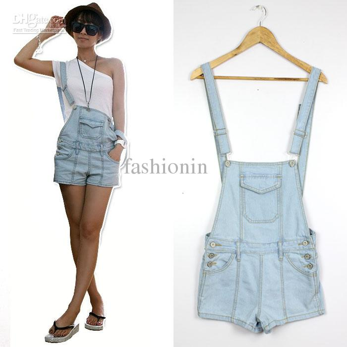 Wholesale Hotsale Denim Overalls Light Blue Casual Sweety Korean Sunmmer S/M/L Mini Skinny Hips Enrich Special Loosen Decoration Women Shorts XJH6-11, Free shipping, $17.98/Piece | DHgate Mobile