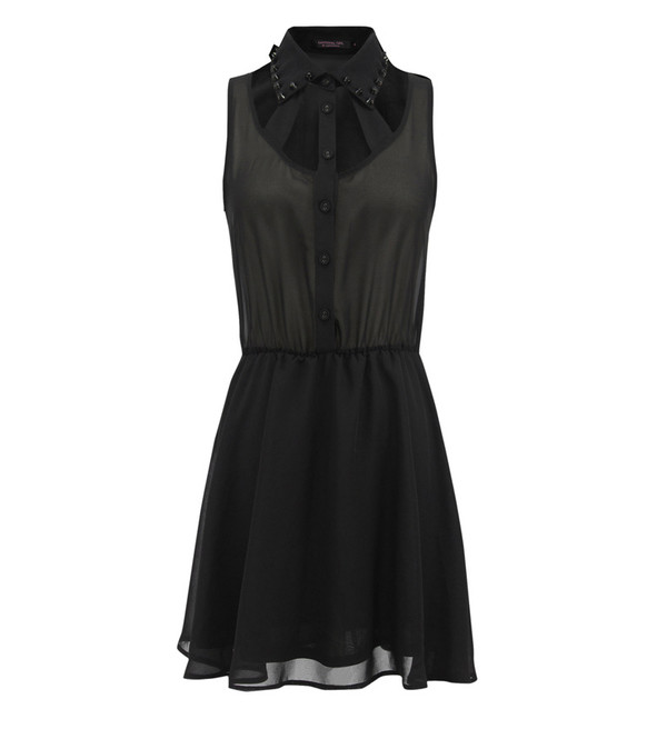 dress stylemoi black cool fabulous skater dress summer dress streetstyle