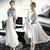 Women Summer Evening Beach Dress Korea Party Cocktail Long Tunic Dress XB755   eBay